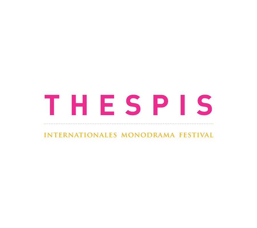 Thespis: Wortmarke für das Internationale Monodrama Festival