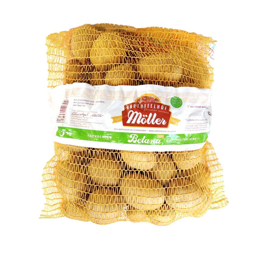 Kartoffelsack Banderole
