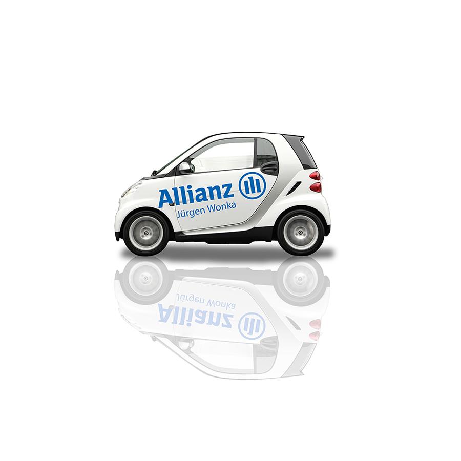 Pkw-Branding, Smart, Logo-Plott