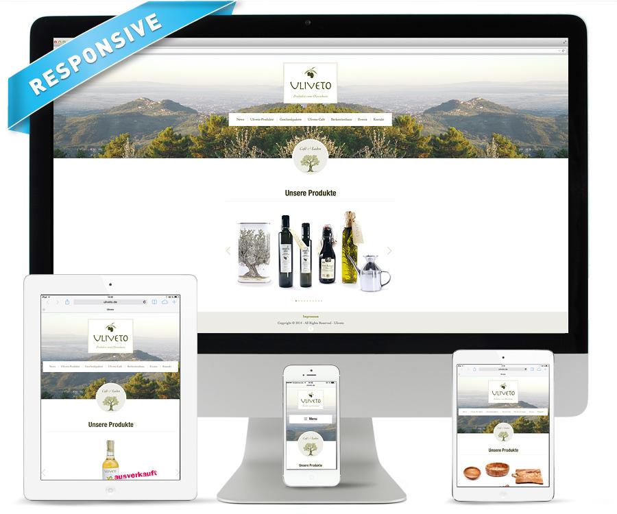 Internetseite Uliveto