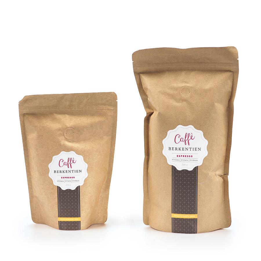 Caffè Berkentien - Etikette