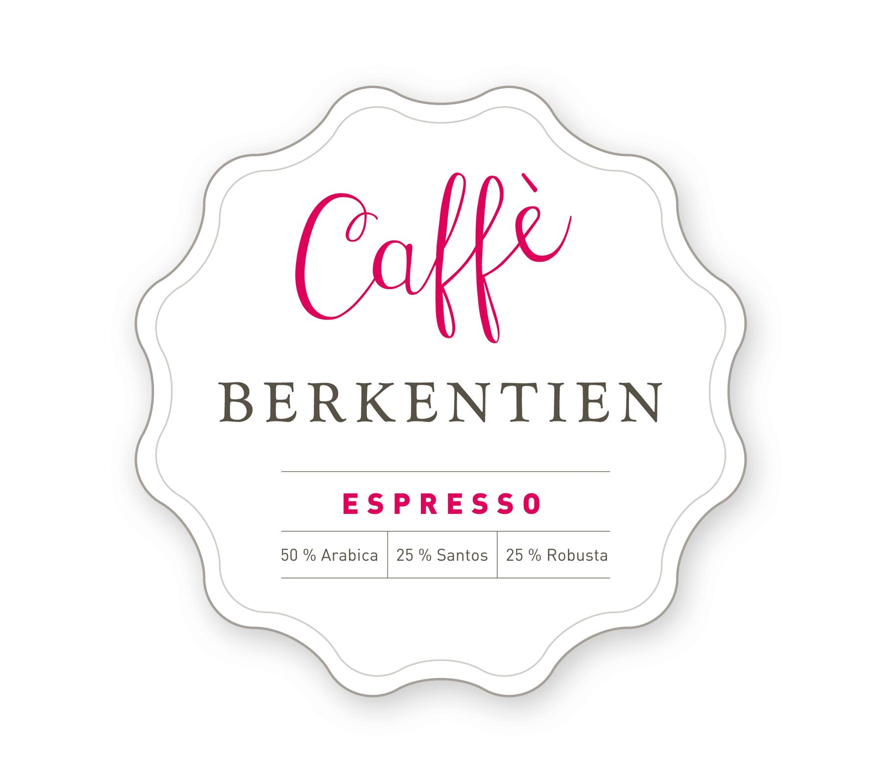 Caffè Berkentien - Espresso - Hausmischung aus der Toskana