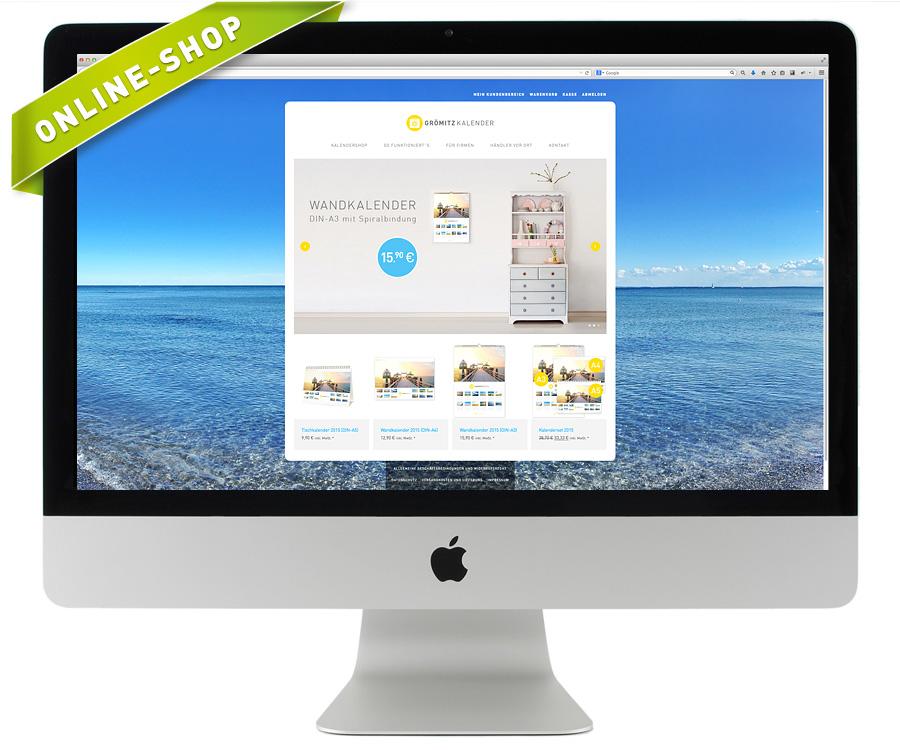 Online Shop Grömitz-Kalender