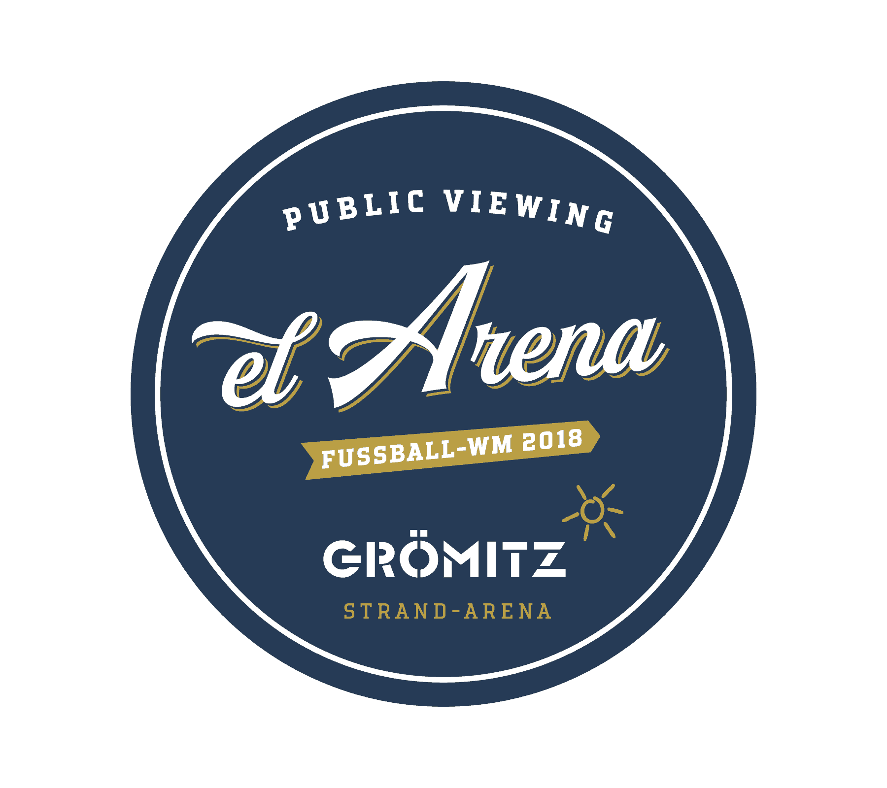 Logo el Arena - Public Viewing Grömitz