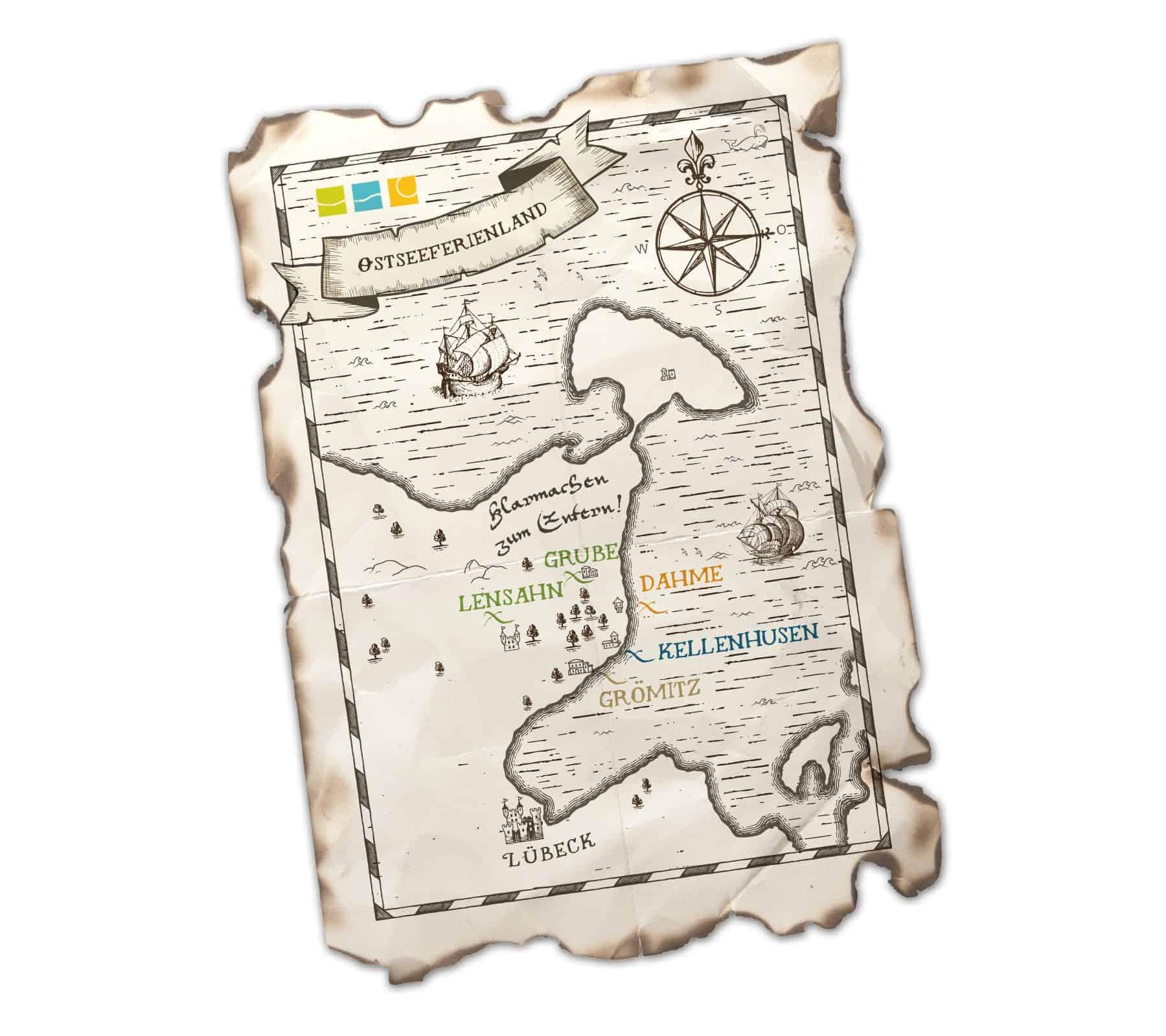La Deutsche Vita - Illustration OstseeFerienLand