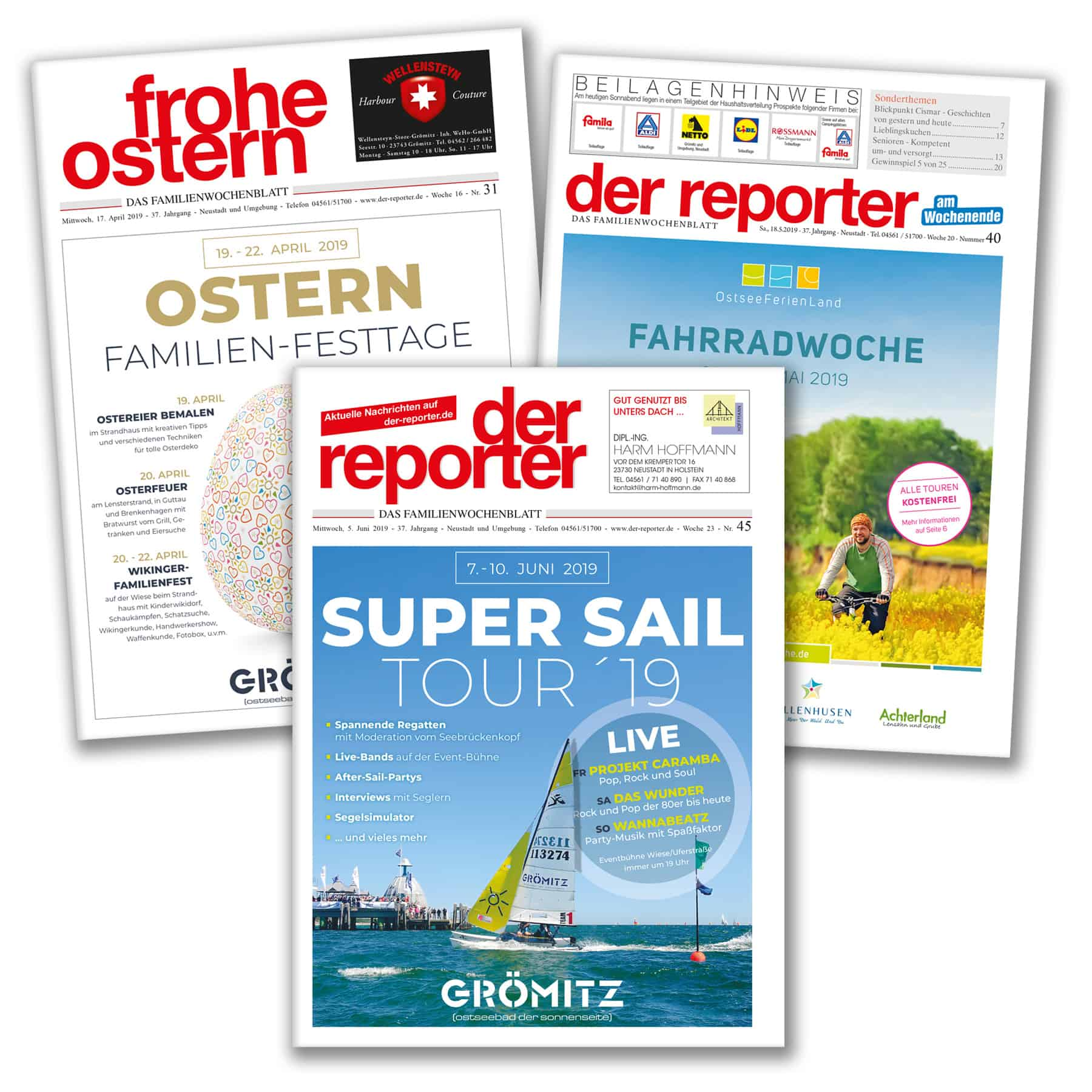 La Deutsche Vita - Drucksachen Anzeigen Grömitz
