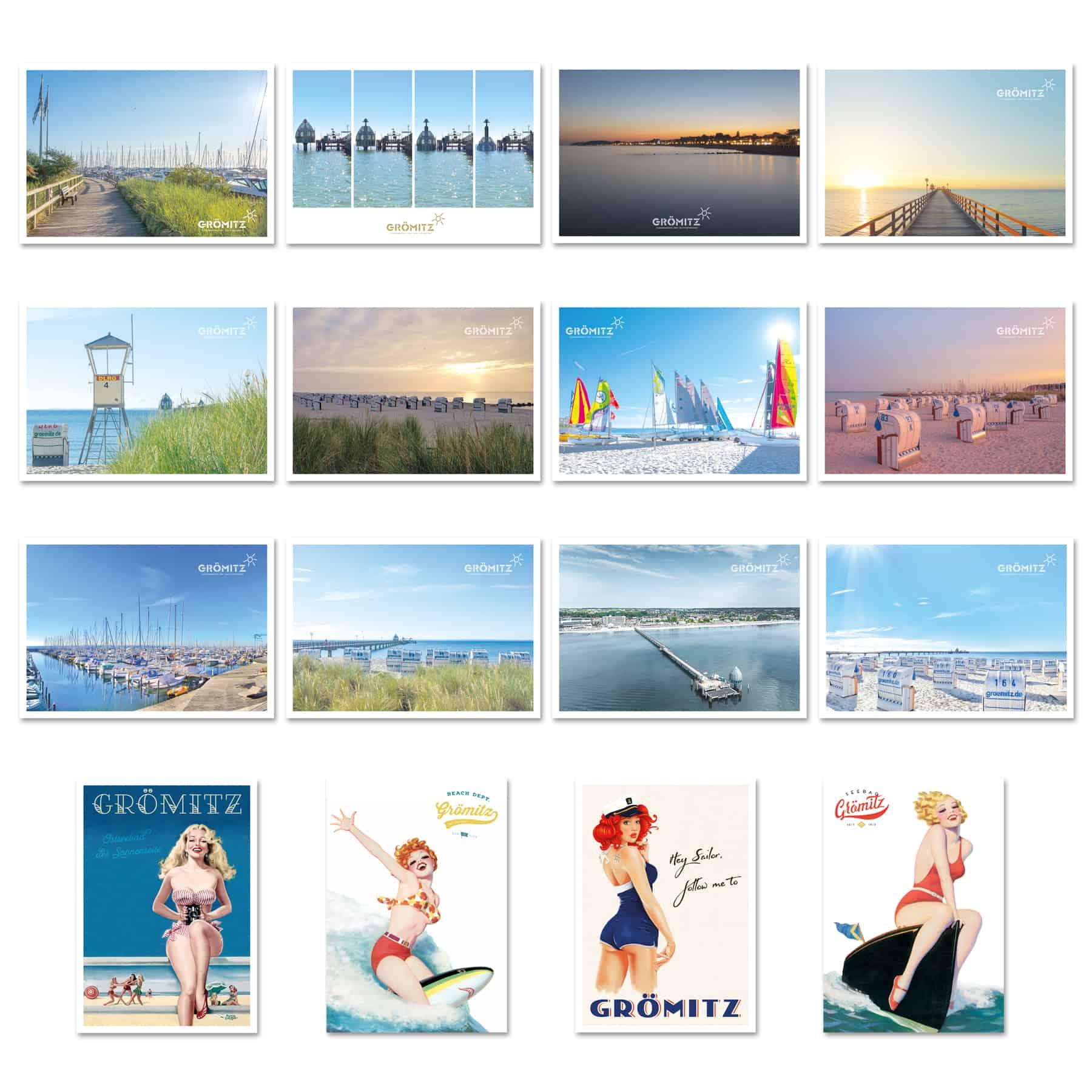 La Deutsche Vita - Drucksachen Postkarten Grömitz