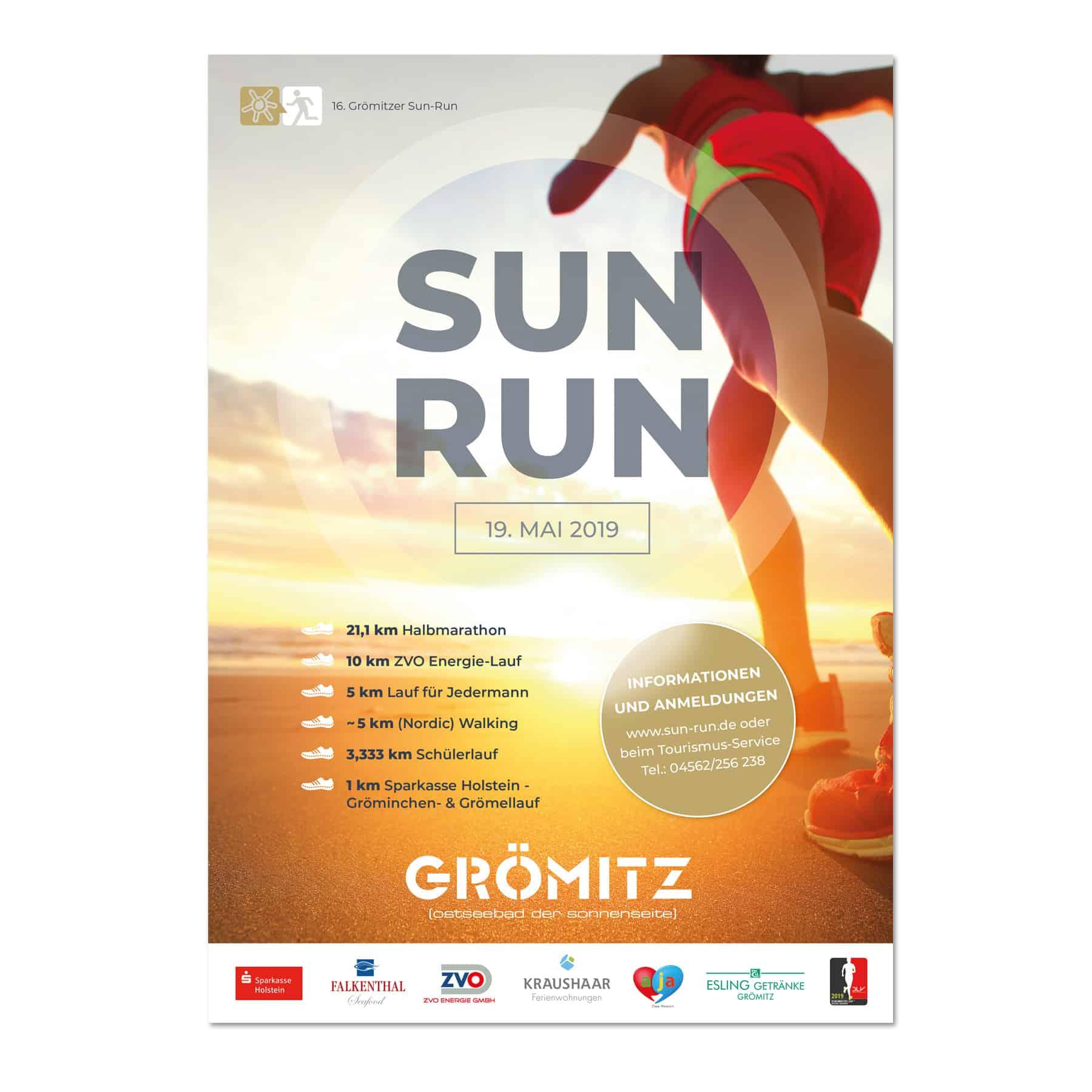 La Deutsche Vita - Drucksachen Plakat SUNRUN Grömitz