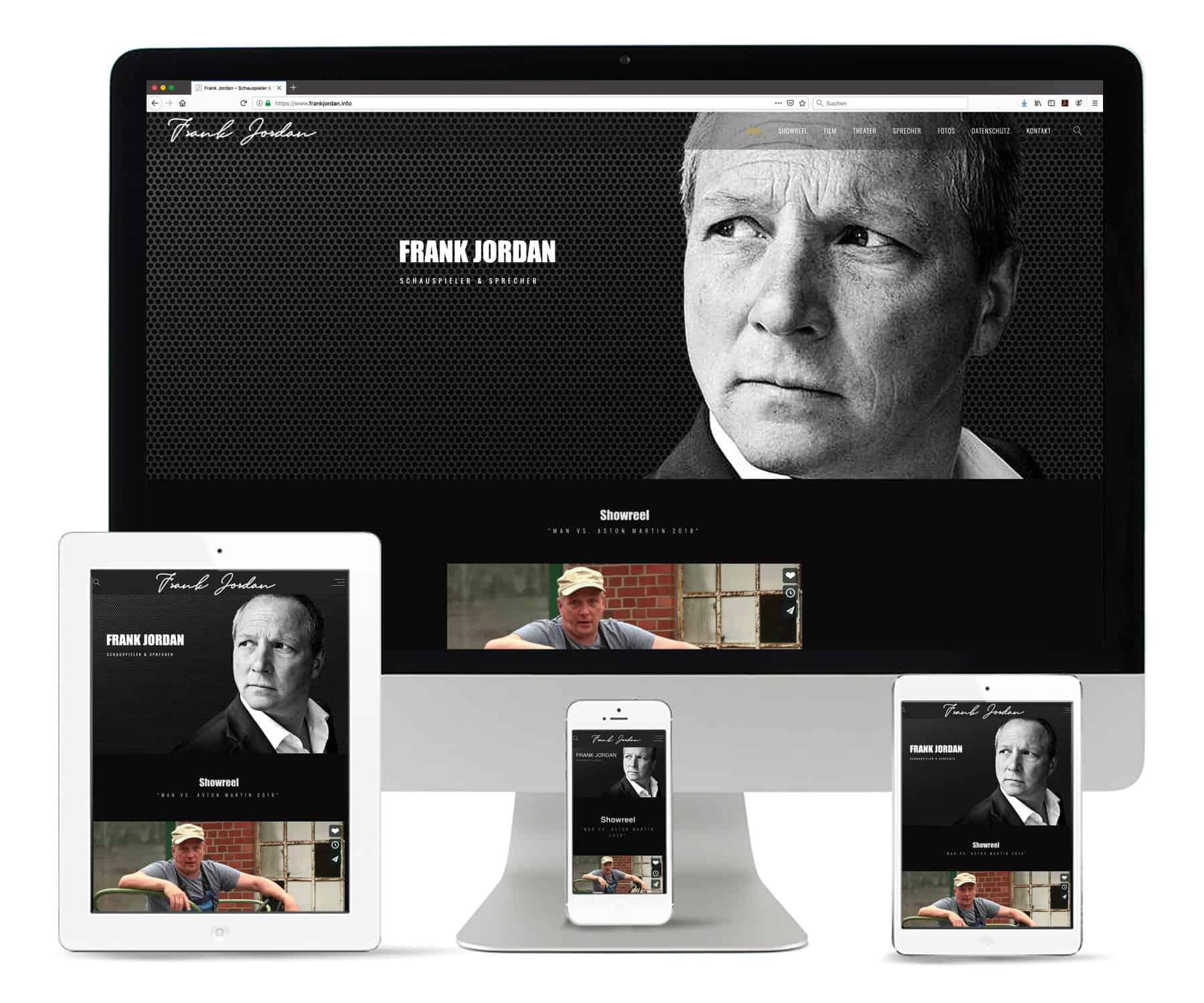 La Deutsche Vita - Internet Webseite Frank Jordan
