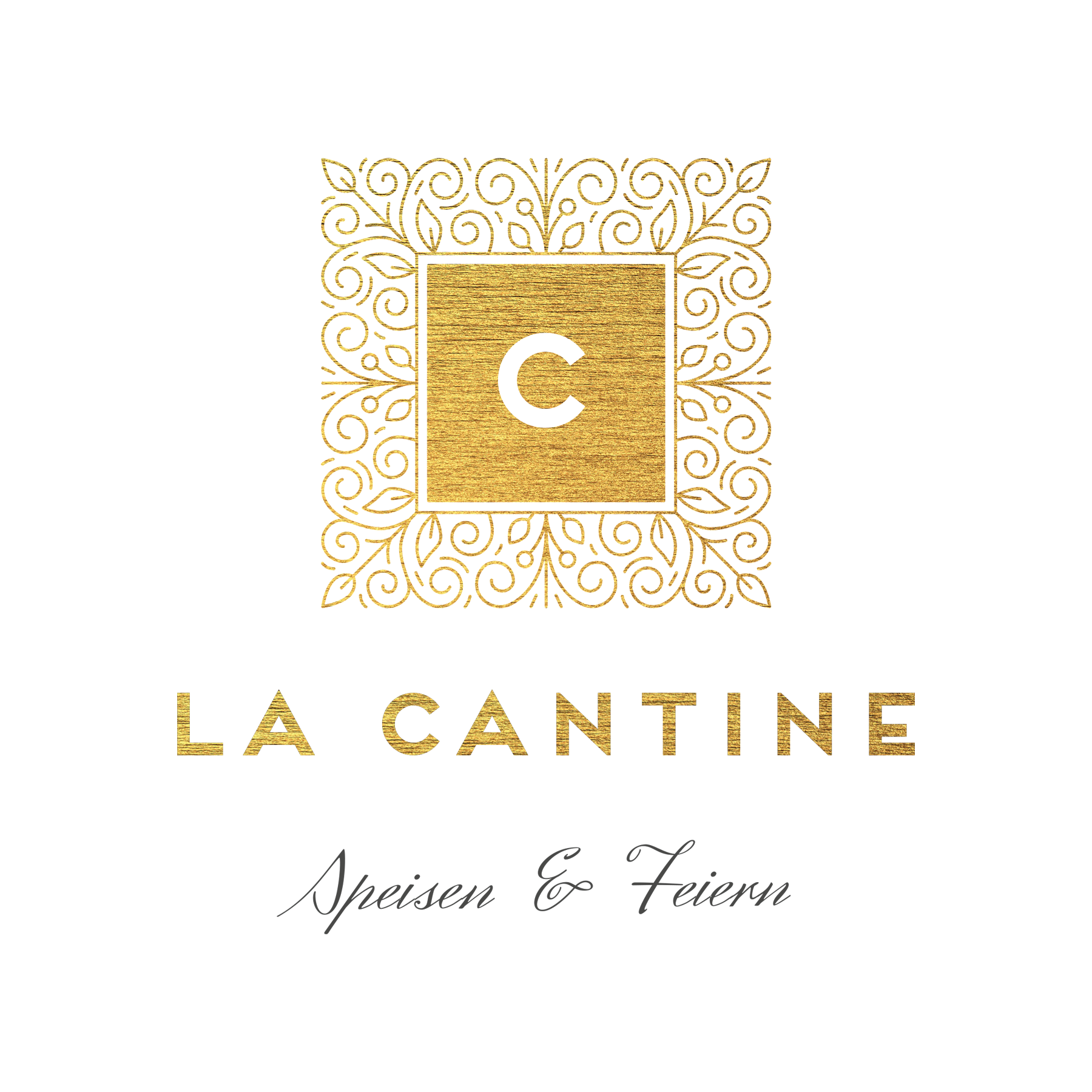 La Deutsche Vita - Corporate Design Logo La Cantine