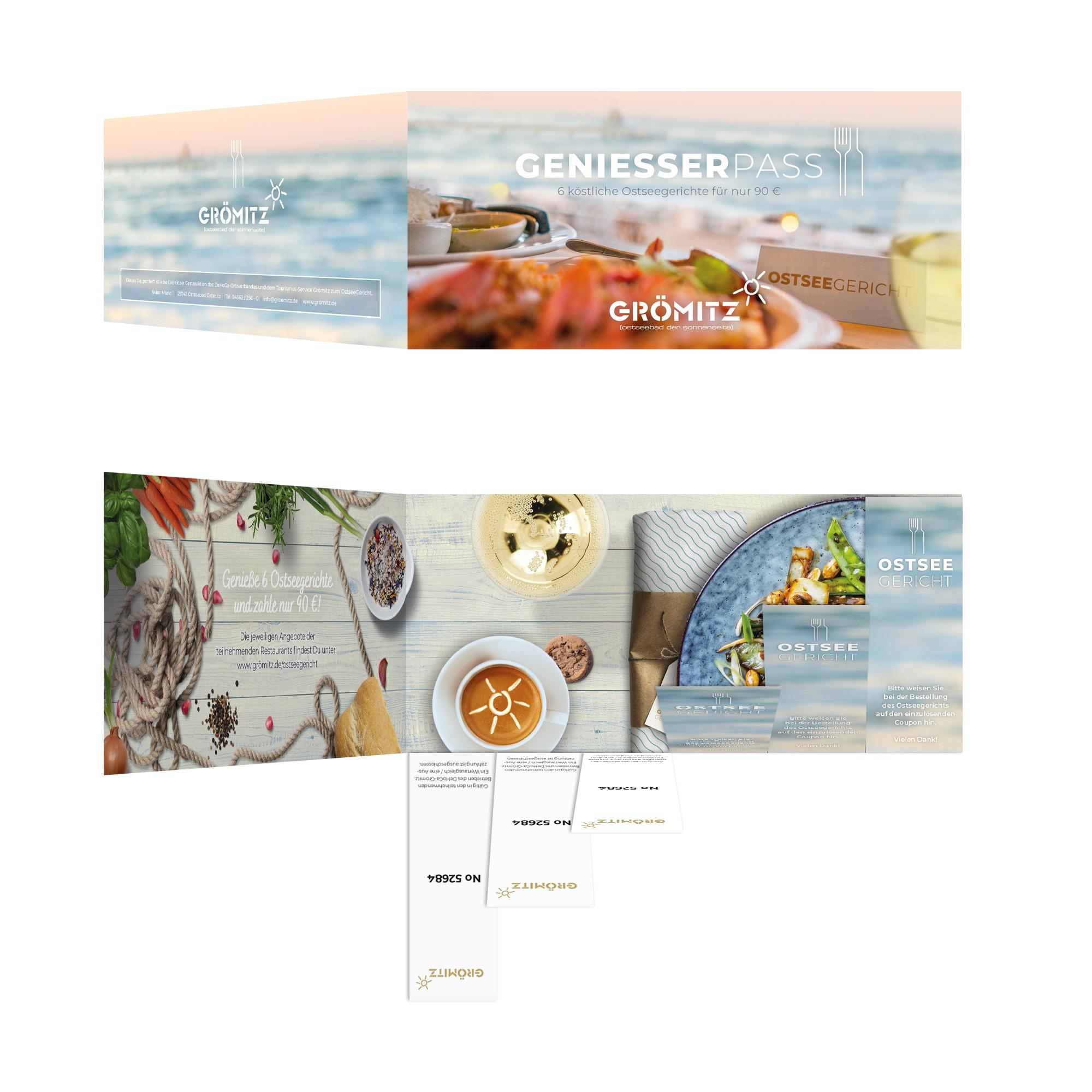 La Deutsche Vita ® - Drucksache Faltblatt Folder mit Perforation