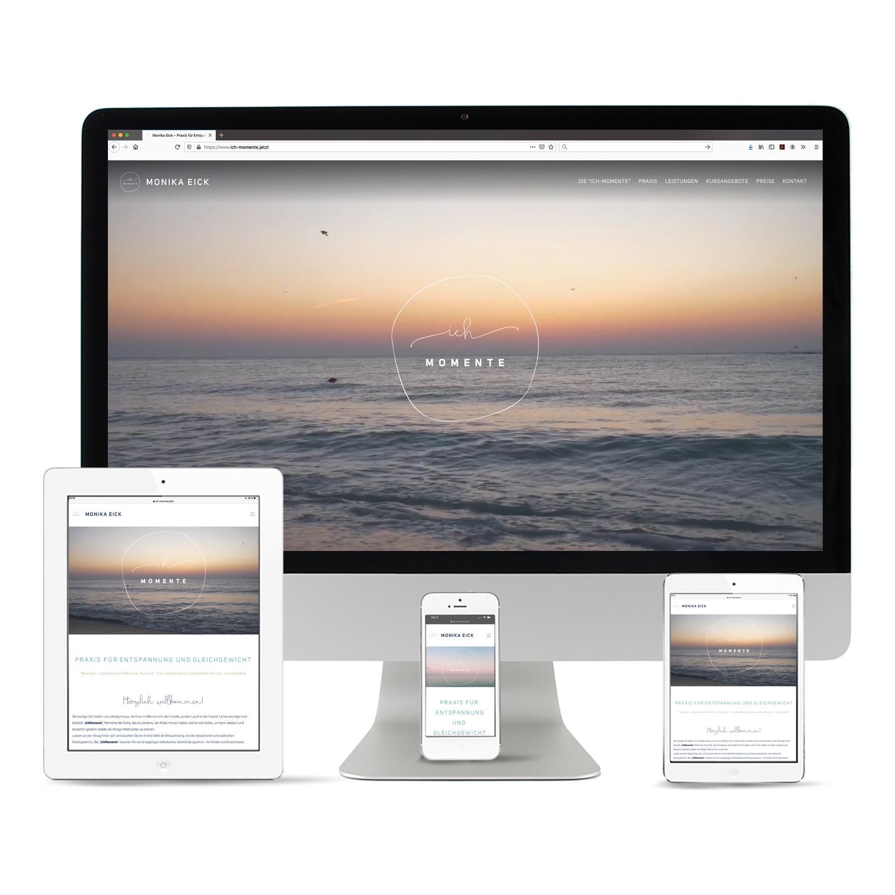 """La Deutsche Vita - Internet Webseite """"Ich-Momente"""""""