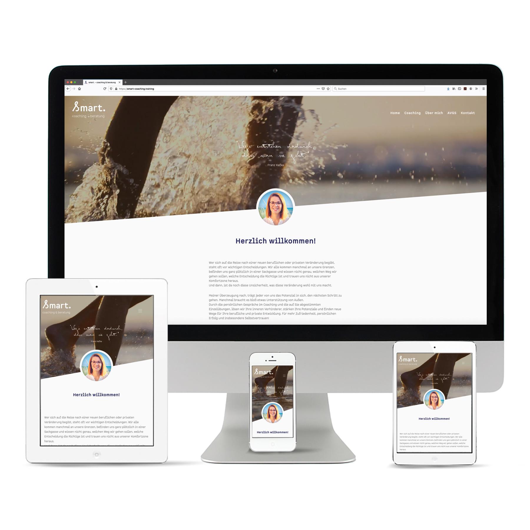 La Deutsche Vita - Internetseite smart coaching